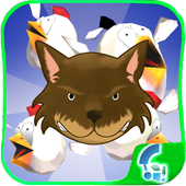 The wolf gang 3D icon
