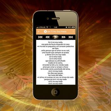 Amaral Canciones de Letra screenshot 2