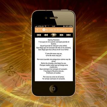 Danny Romero - Bandida musica screenshot 2