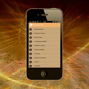 Espinoza Paz - Llévame Musicas screenshot 1
