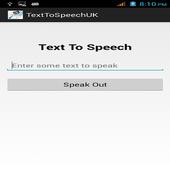 Text To Speech UK icon