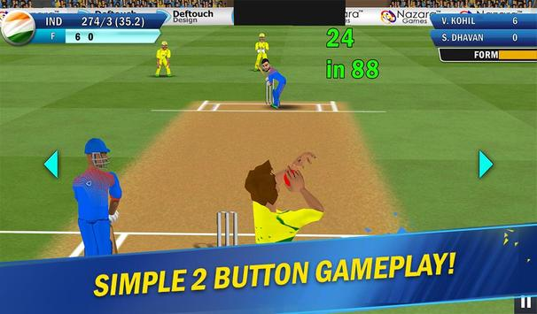 Nazara Star Cricket - India vs Sri Lanka 2017 screenshot 8