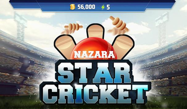 Nazara Star Cricket - India vs Sri Lanka 2017 poster