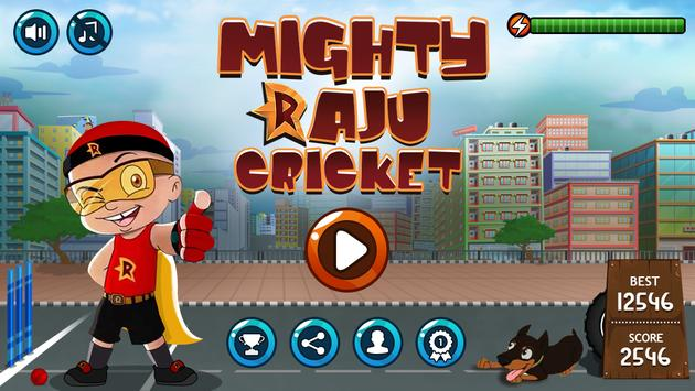 Mighty Raju Cricket poster