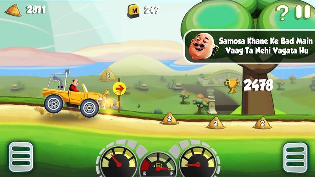 Motu Patlu King of Hill Racing apk screenshot