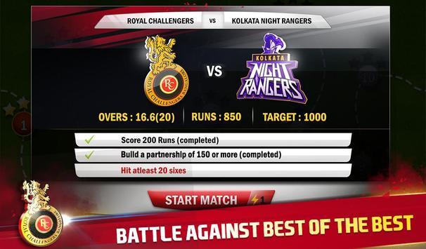 RCB Star Cricket स्क्रीनशॉट 12