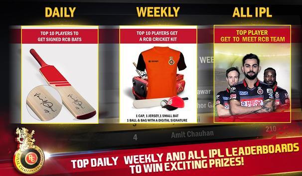 RCB Star Cricket स्क्रीनशॉट 8