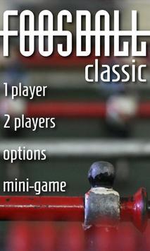 Foosball Classic poster