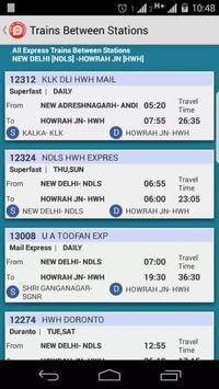 IRTC Live Train Status apk screenshot