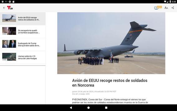 Telemundo 20 screenshot 4