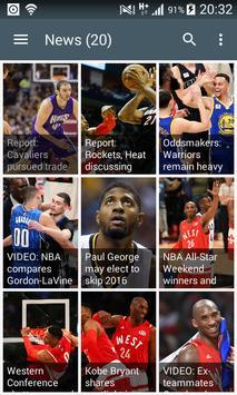 NBA Best News screenshot 1