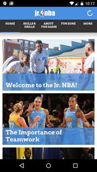 Jr. NBA App 海报