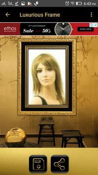 Luxurious Photo Frames poster