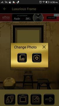 Luxurious Photo Frames screenshot 1