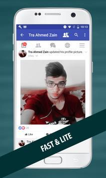 Fast for Facebook Lite screenshot 1