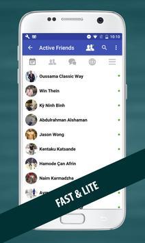 Fast for Facebook Lite screenshot 2