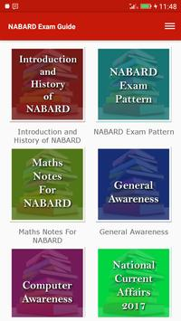 Exam Guide for NABARD poster