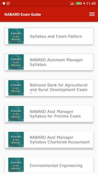 Exam Guide for NABARD screenshot 1