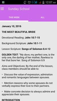 Nigerian Baptist Convention screenshot 2