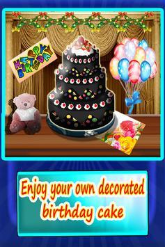 Delicious Cake Make Decoration poster