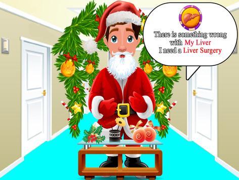 Santa Surgery Simulator Doctor apk screenshot
