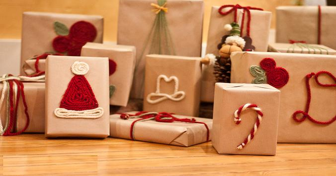 Ideas for Wrapping Christmas Gifts poster