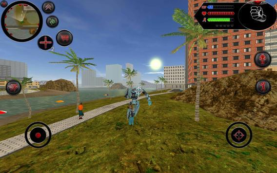 Robot Shark screenshot 1