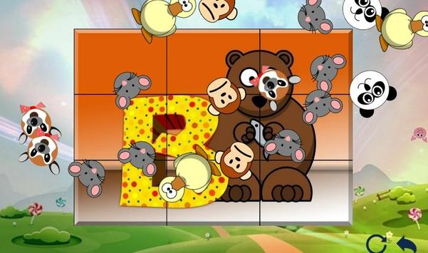 Free Learning Puzzle Games for Children poster