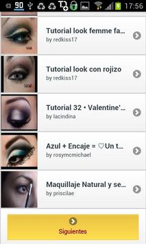 Maquillaje para Ojos screenshot 1