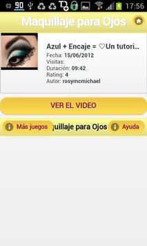 Maquillaje para Ojos screenshot 2