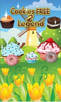 Cookies Free 2 legend apk screenshot