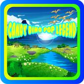 Candy Dino Pop Legend icon