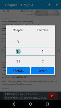 Maths 12th Solutions for NCERT apk screenshot