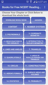 Books for Free NCERT Engg. Med screenshot 7