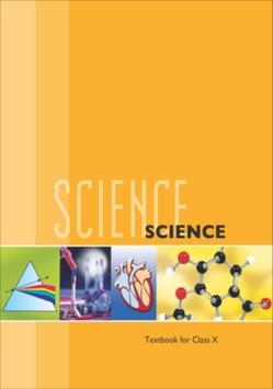 10th Science NCERT Textbook poster