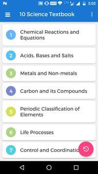 10th Science NCERT Textbook screenshot 1