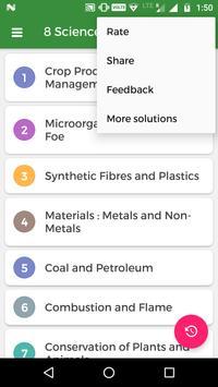 8th Science NCERT Solution screenshot 1
