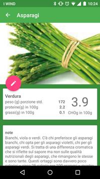 Glycarb (diario diabete) apk screenshot