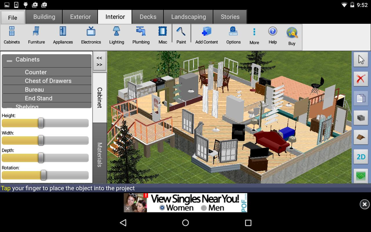 Dreamplan home design free for android apk download for Home architect design software free download