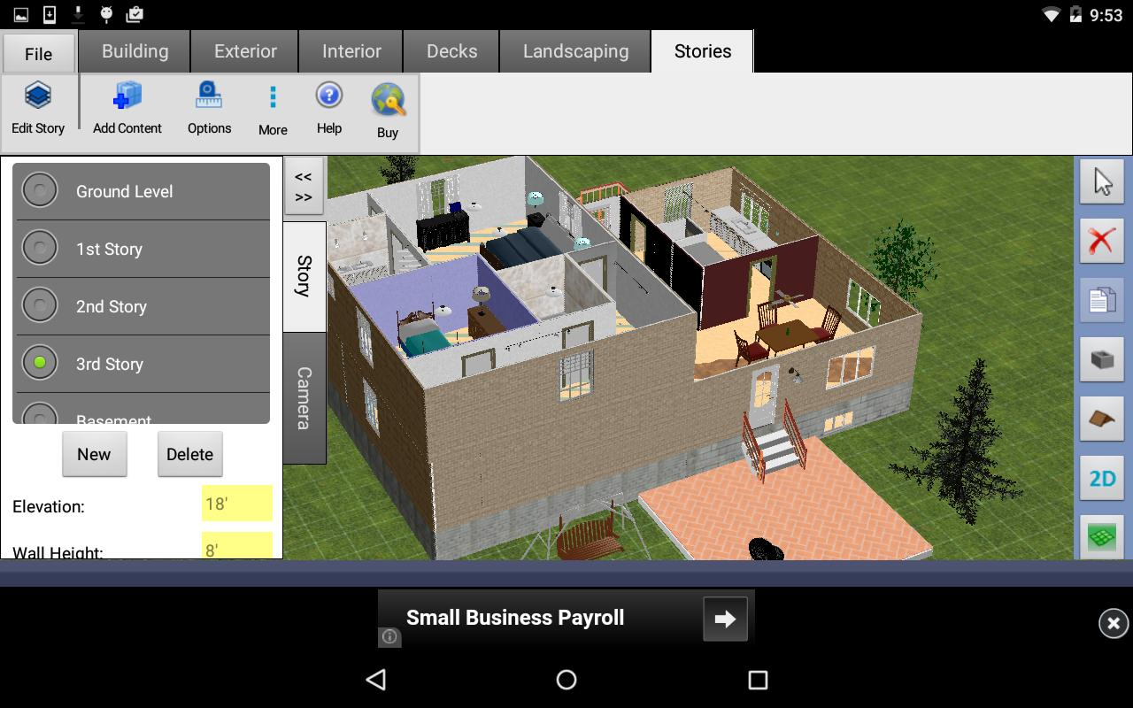 Floor Plan Drawing App For Android: DreamPlan Home Design Free For Android