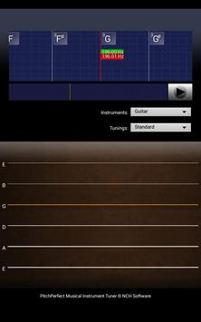 PitchPerfect Guitar Tuner Free apk screenshot