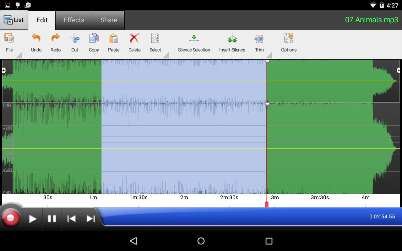 WavePad Audio Editor Free for Android - APK Download