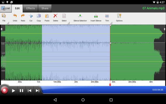 WavePad Audio Editor Free 截圖 7