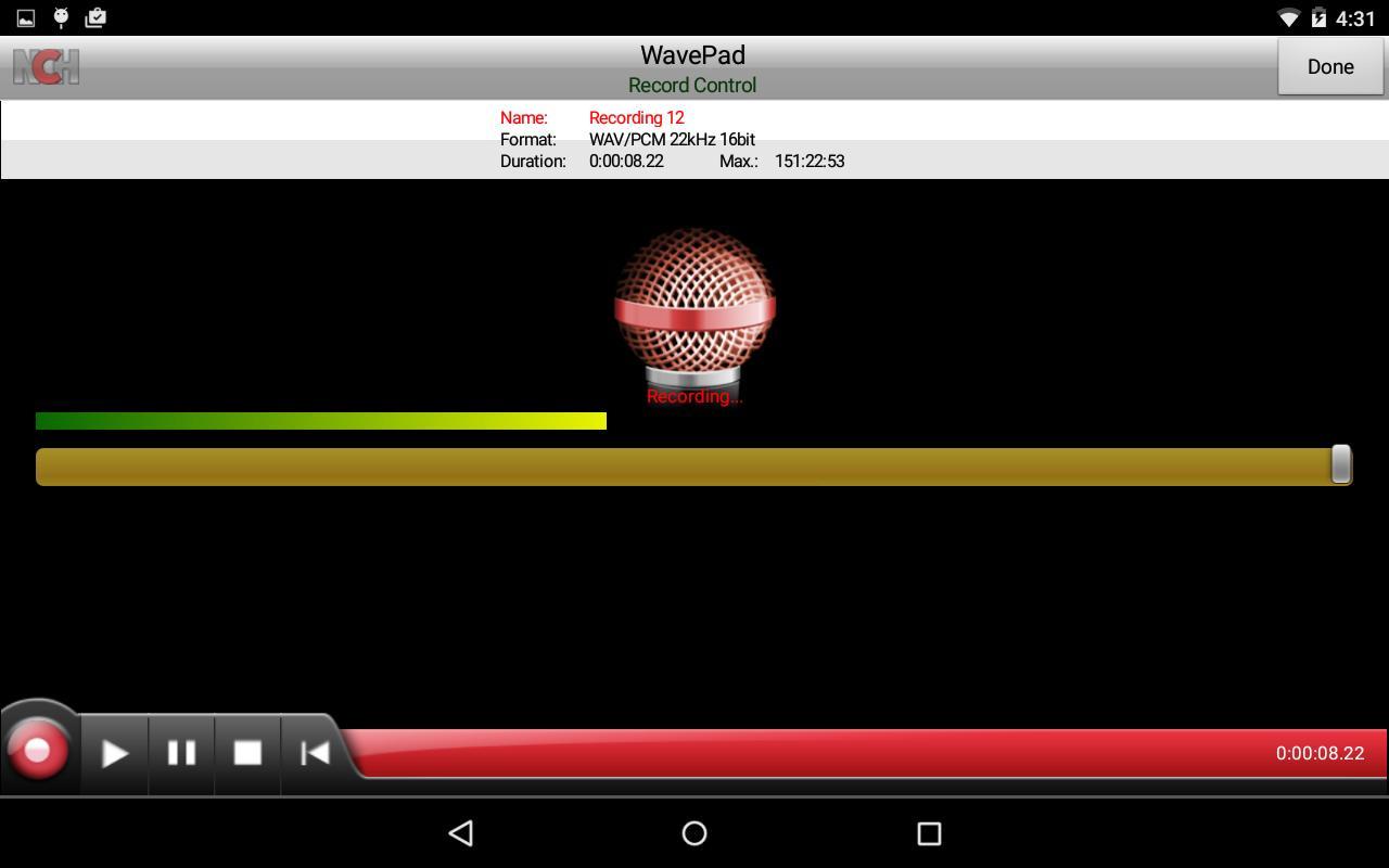 wavepad sound editor crack apk