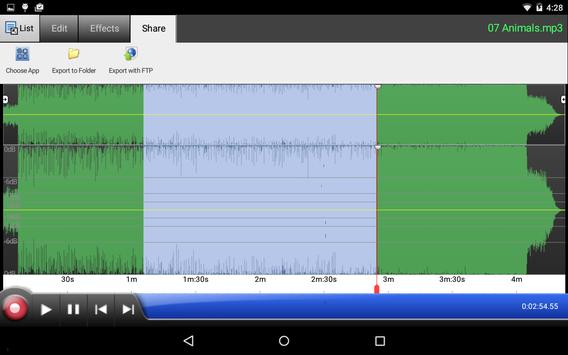 WavePad Audio Editor Free apk स्क्रीनशॉट