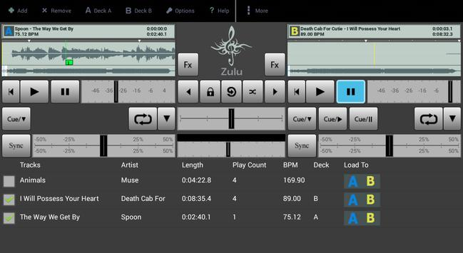 Zulu DJ Mixer Free screenshot 5