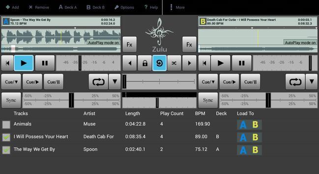 Zulu DJ Mixer Free screenshot 9