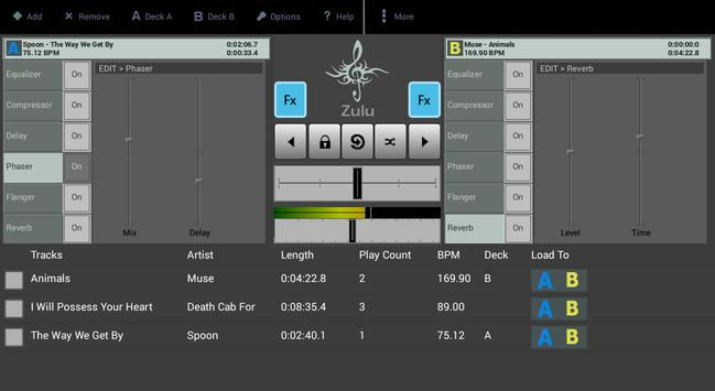 Zulu DJ Mixer Free screenshot 1