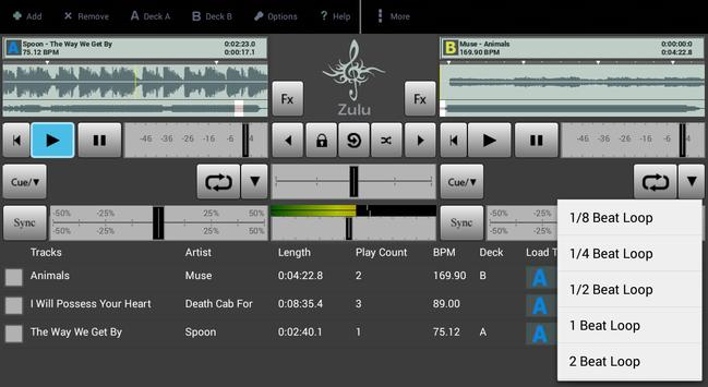 Zulu DJ Mixer Free screenshot 3