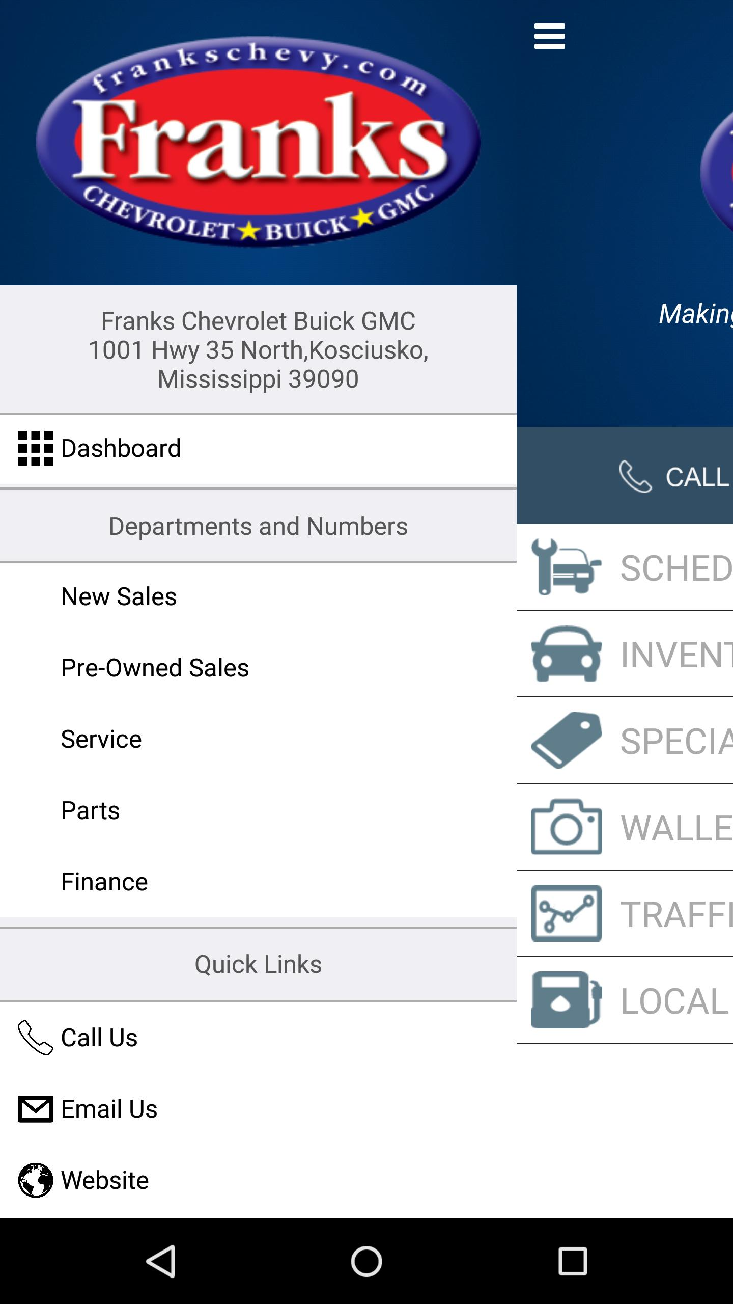 Franks Chevrolet Buick Gmc For Android Apk Download